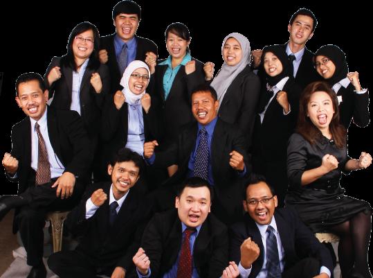 Staff karyawan KAP SES Sriyadi Elly Sugeng & Rekan akuntan publik